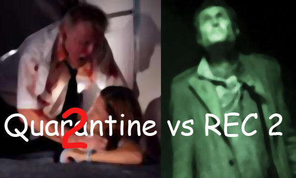 Quarantine 2 vs REC 2 DVD Review