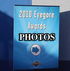 Los Angeles Review News 2010 Eyegore Awards